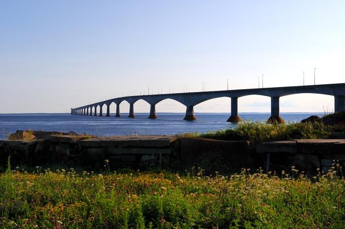 Pont de la Confédération, du côté de l'Î.-P.-É. Photo: Thinkstock.com